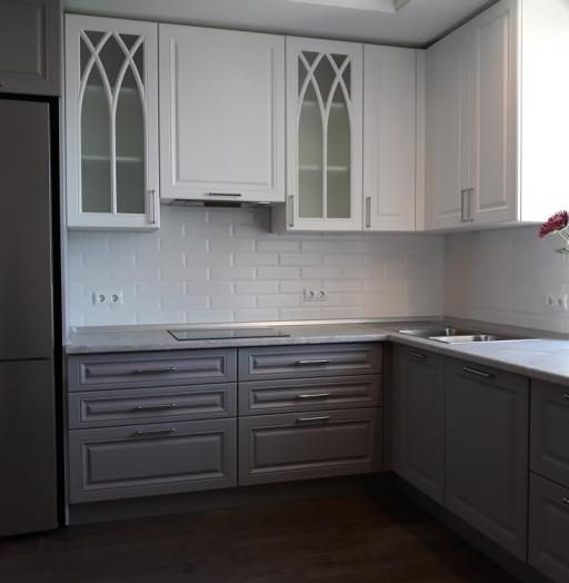 -Кухня МДФ в ПВХ «Модель 324»-фото30
