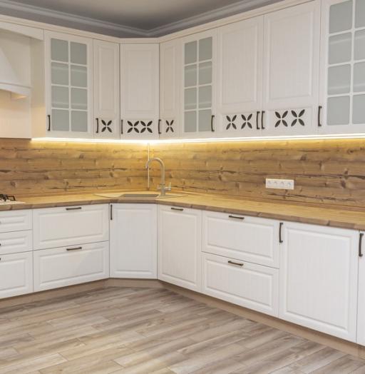 -Кухня МДФ в ПВХ «Модель 10»-фото1