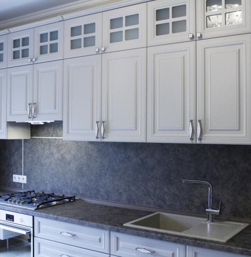 -Кухня МДФ в ПВХ «Модель 147»-фото3