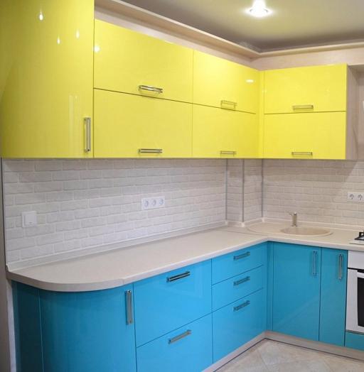 -Кухня МДФ в эмали «Модель 167»-фото26