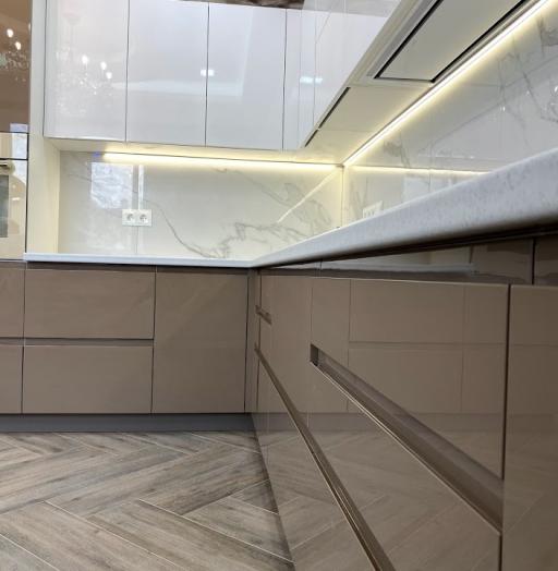 -Кухня МДФ в эмали «Модель 565»-фото30