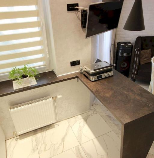 Белый кухонный гарнитур-Кухня МДФ в ПВХ «Модель 660»-фото8